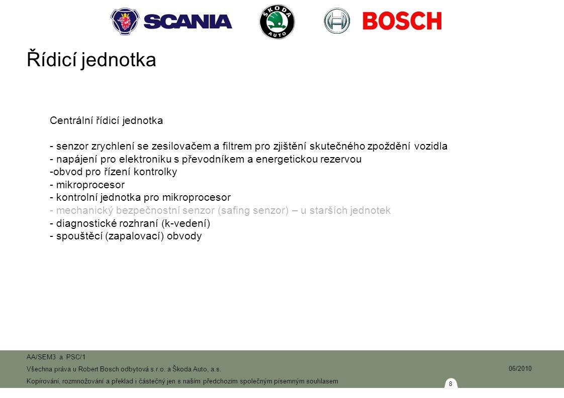 19 AA/SEM3 a PSC/1 Všechna práva u Robert Bosch odbytová s.r.o.