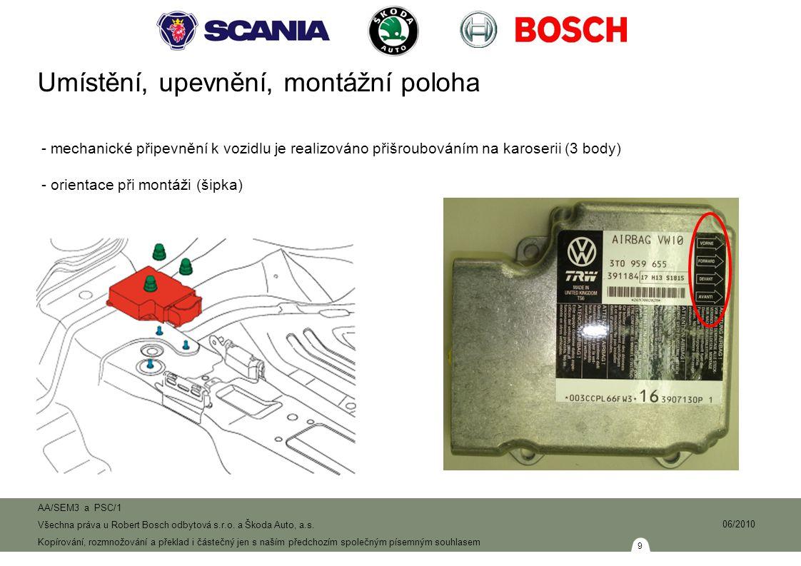 40 AA/SEM3 a PSC/1 Všechna práva u Robert Bosch odbytová s.r.o.
