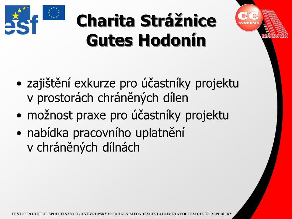 TENTO PROJEKT JE SPOLUFINANCOVÁN EVROPSKÝM SOCIÁLNÍM FONDEM A STÁTNÍM ROZPOČTEM ČESKÉ REPUBLIKY Cílová skupina osoby se zdravotním postižením dlouhodobě nebo opakovaně evidované na Úřadech práce Brno-venkov a Hodonín