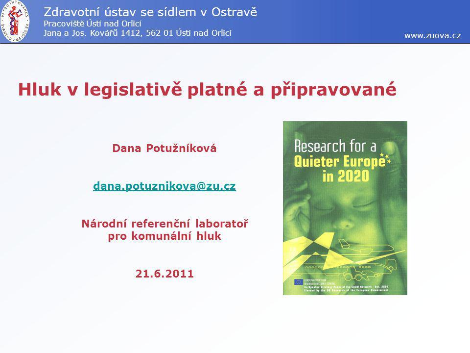 www.zuova.cz Zdravotní ústav se sídlem v Ostravě Pracoviště Ústí nad Orlicí Jana a Jos.