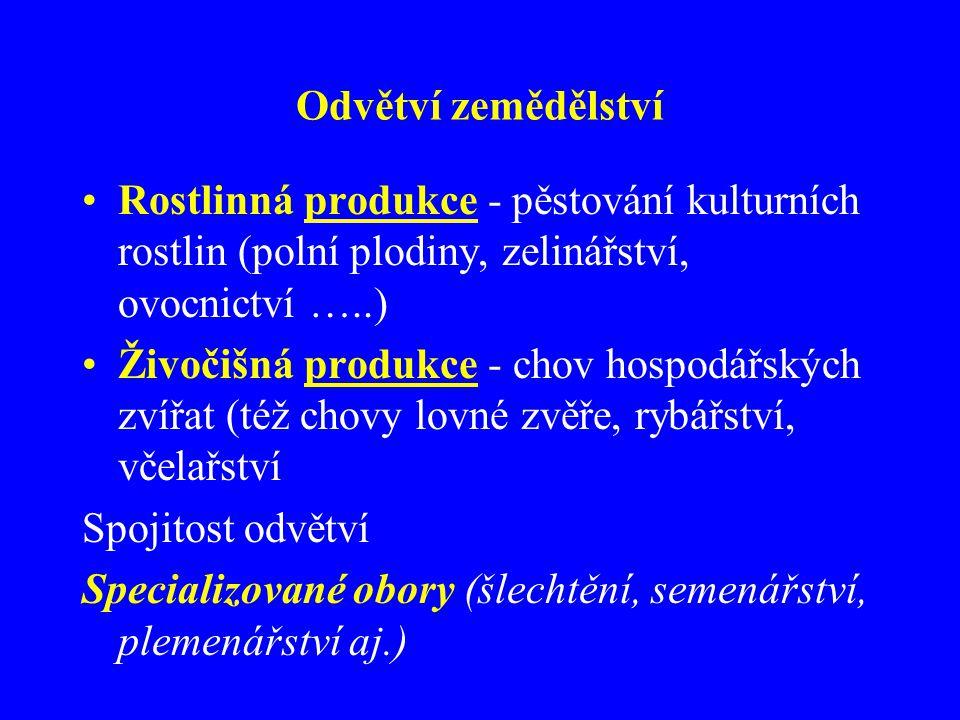 Sklizňová plocha (1000 ha) a výnosy (t/ha) - 2002