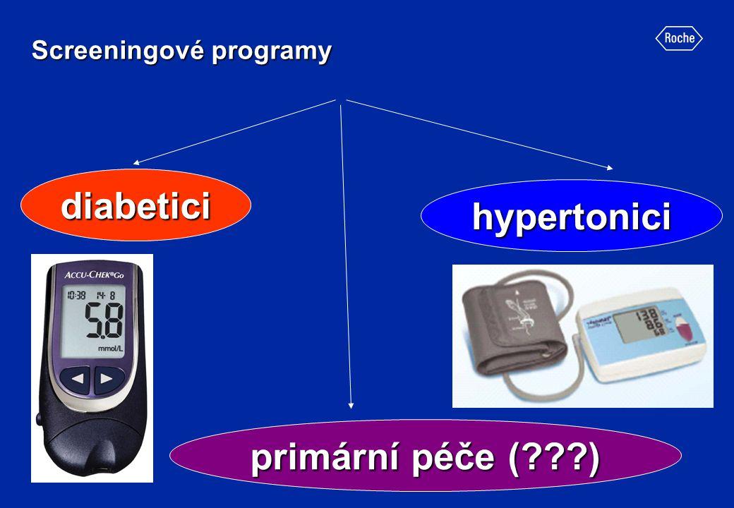 Screeningové programy diabetici hypertonici primární péče (???)