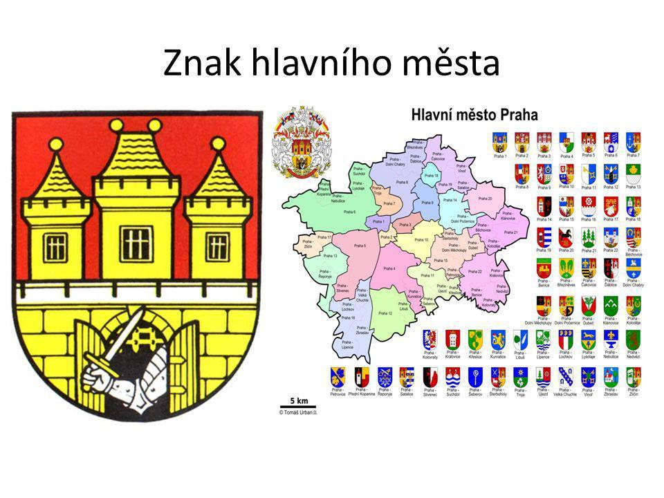 Znak hlavního města