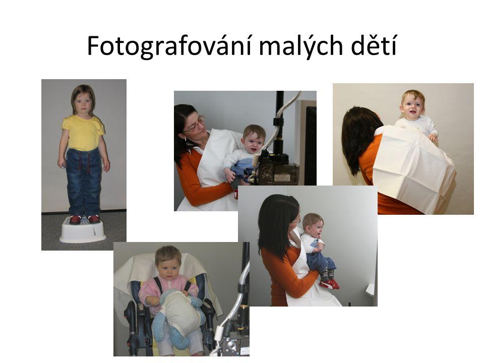 Fotografování malých dětí
