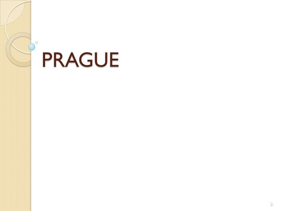 Prague is the capital of the Czech Republic.
