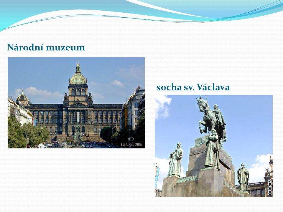 socha sv. Václava Národní muzeum