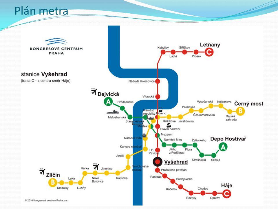 Plán metra