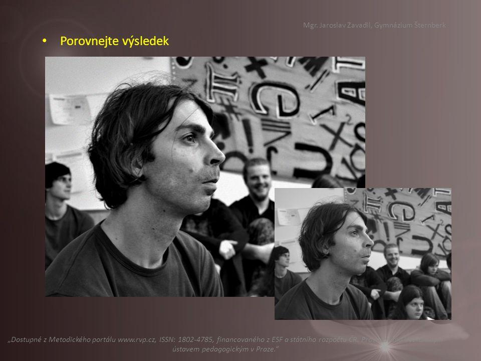 Příště: Úpravy fotografií – efekty pro vytváření grafických prvků (novinový tisk, filmový pás, kostka … Mgr.