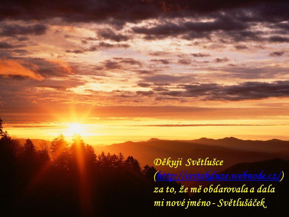 """Děkuji Jánu Zákopčaníkovi za jeho kouzelné """"Slunce v duši"""