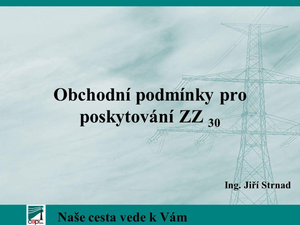 Obchodní podmínky pro poskytování ZZ 30 Naše cesta vede k Vám Ing. Jiří Strnad