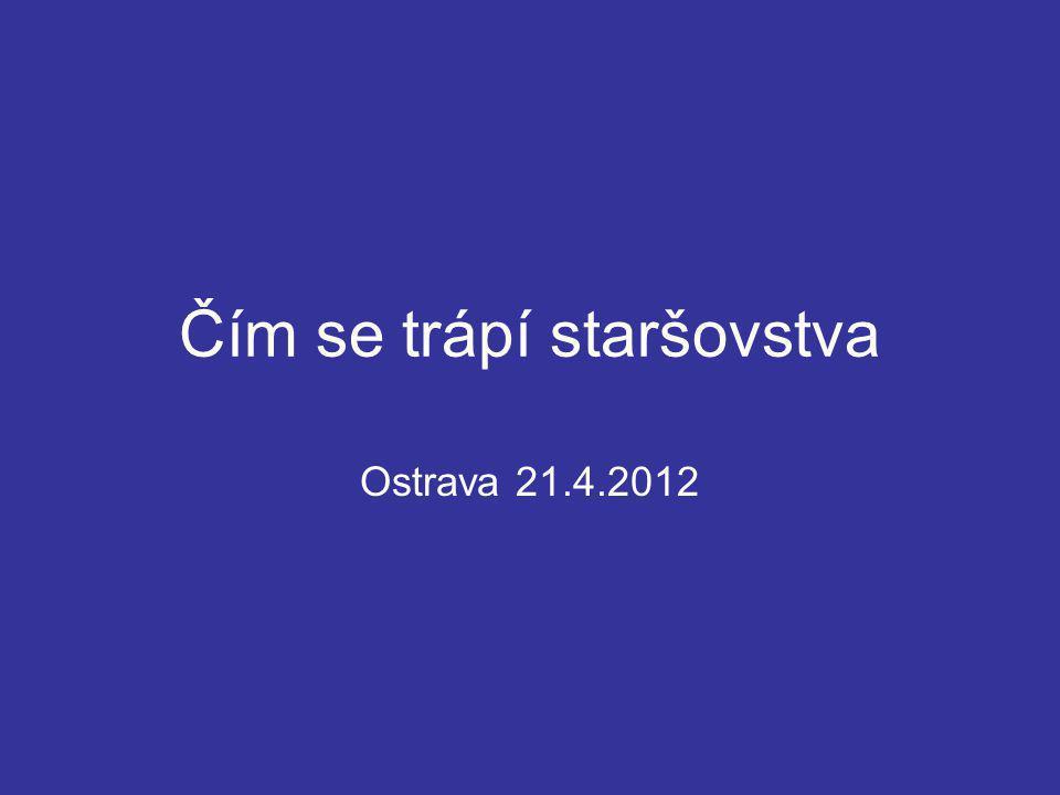 Čím se trápí staršovstva Ostrava 21.4.2012