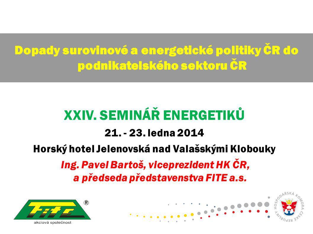 XXIV. SEMINÁŘ ENERGETIKŮ 21. - 23.