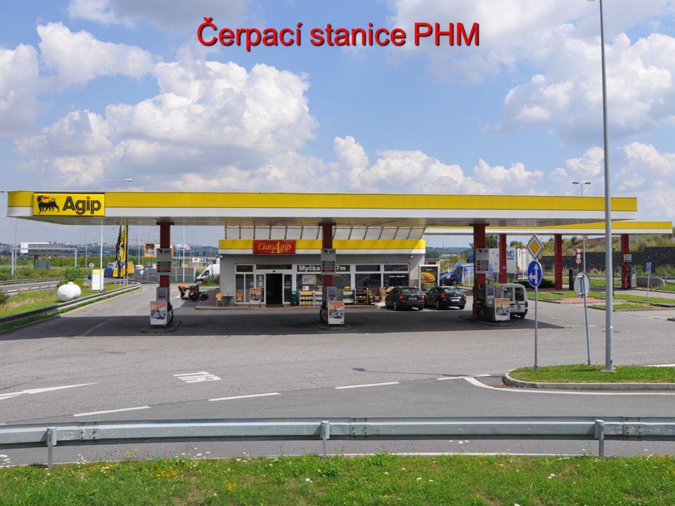 Čerpací stanice PHM