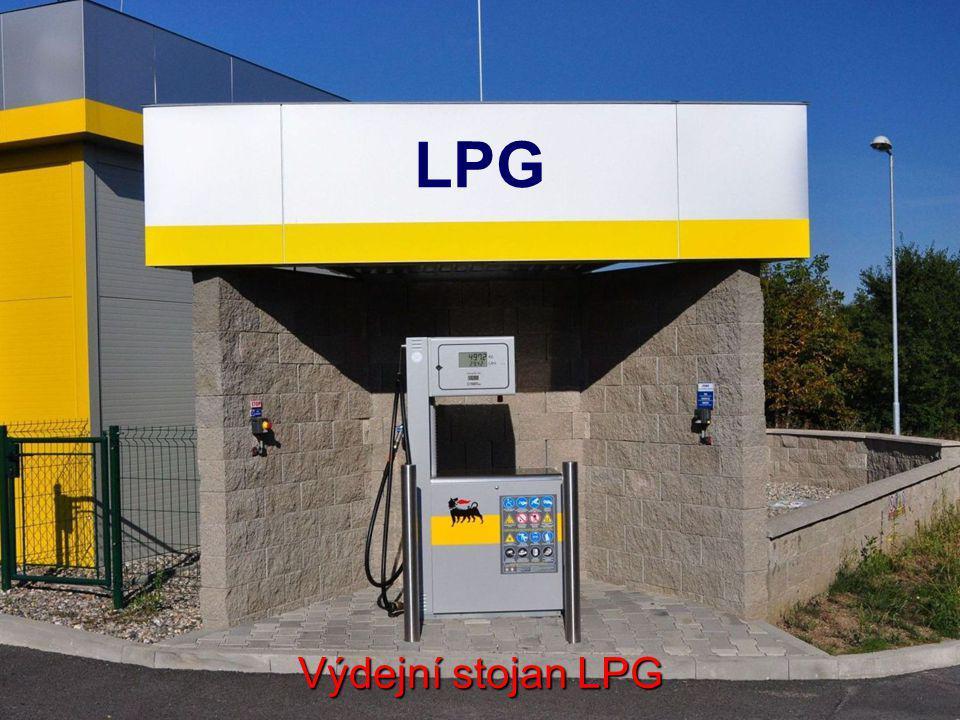 LPG Výdejní stojan LPG