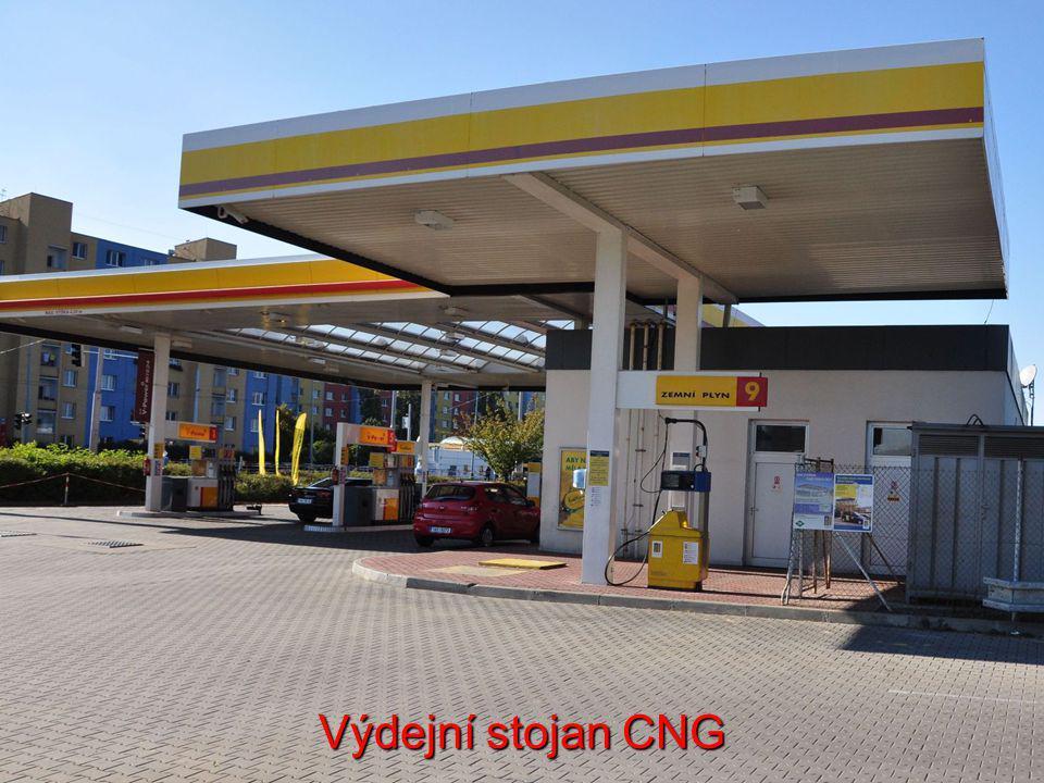 Výdejní stojan CNG
