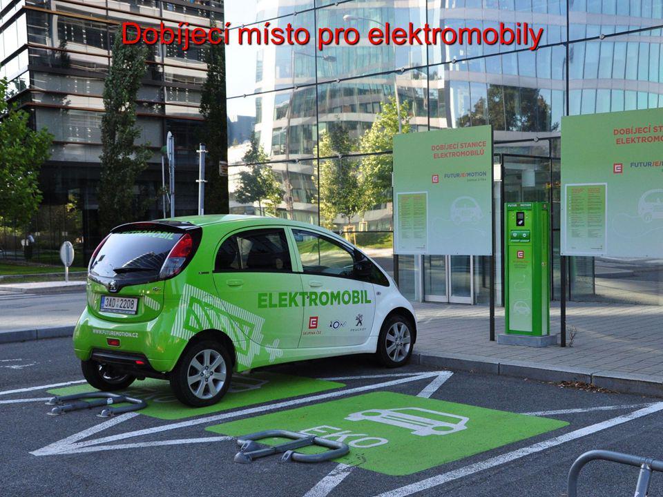 Dobíjecí místo pro elektromobily