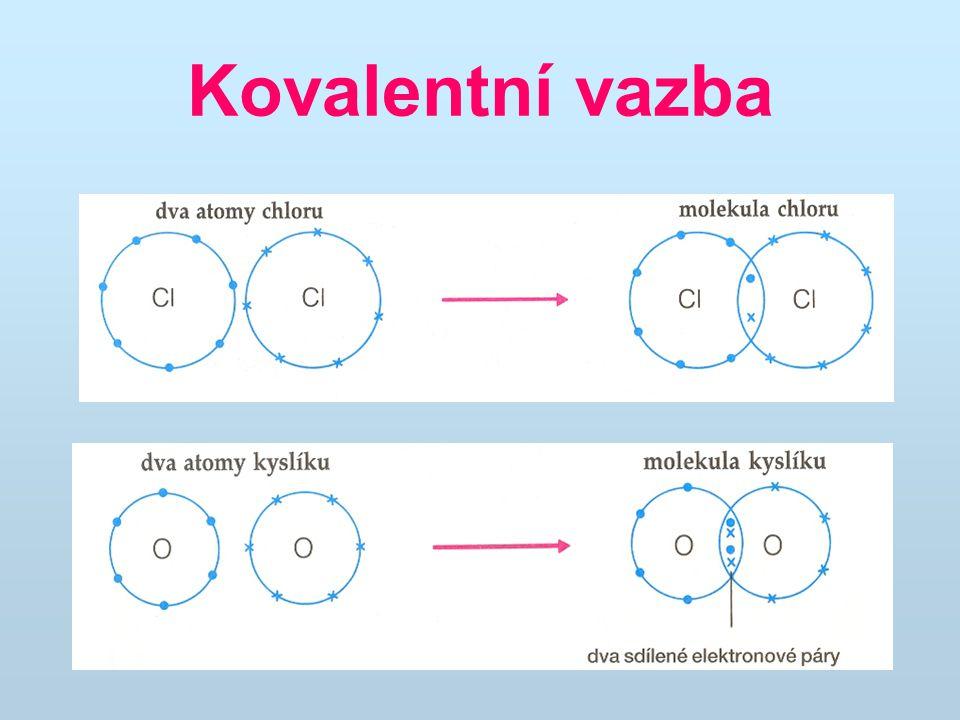 Kovalentní vazba