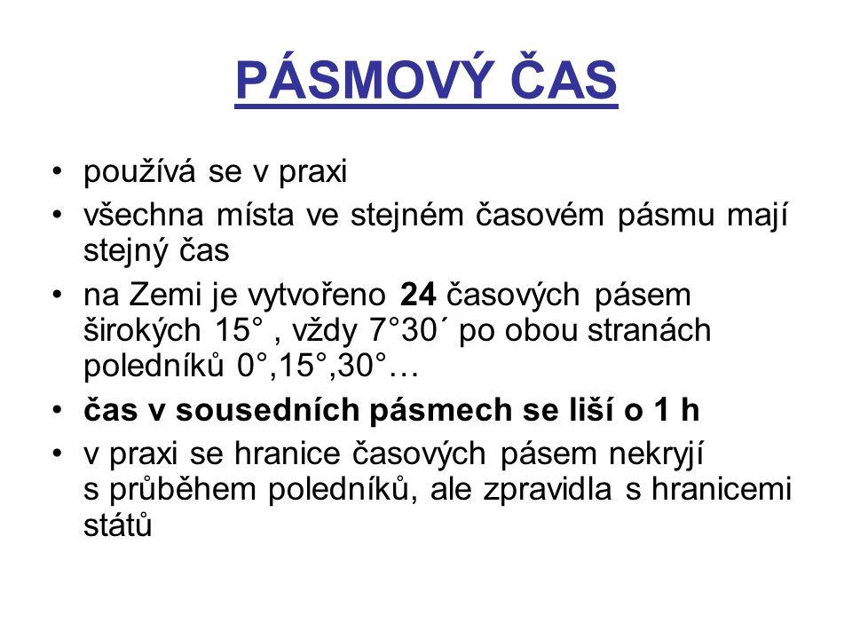PÁSMOVÝ ČAS 2