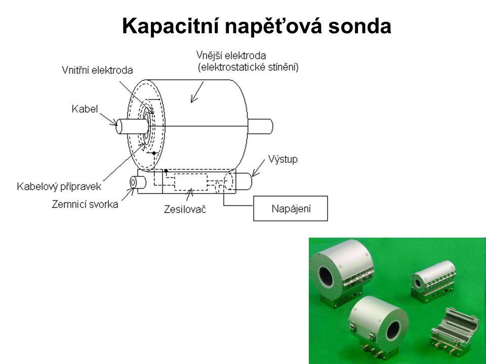 Kapacitní napěťová sonda