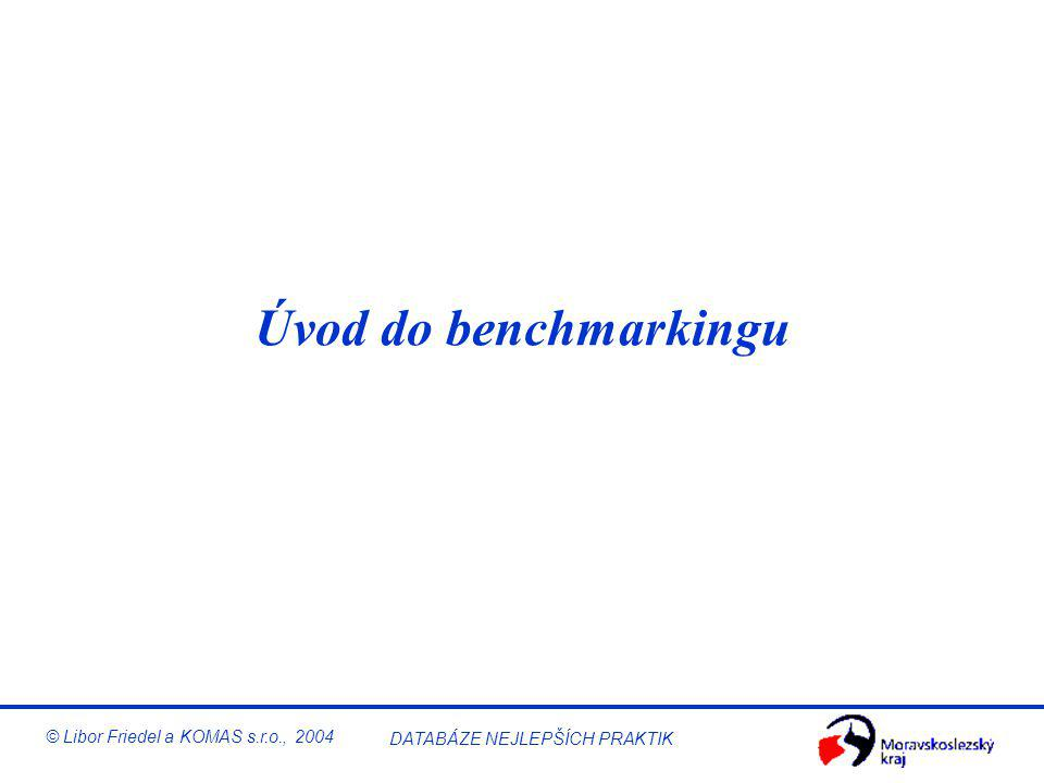 Benchmarking v malé a střední firmě © Libor Friedel a KOMAS s.r.o., 2004 DATABÁZE NEJLEPŠÍCH PRAKTIK KOMAS – Příklady technického vybavení