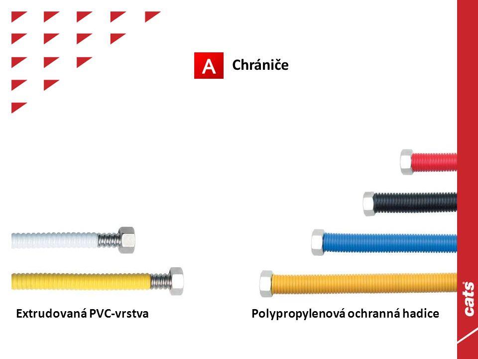 Chrániče Extrudovaná PVC-vrstvaPolypropylenová ochranná hadice