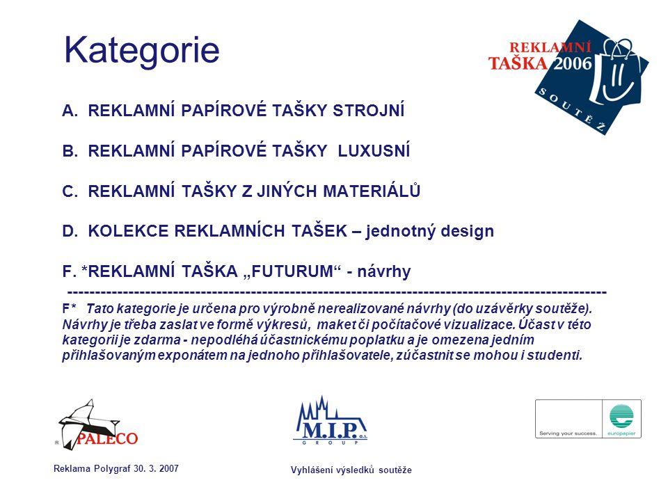 Vyhlášení výsledků soutěže Reklama Polygraf 30.3.
