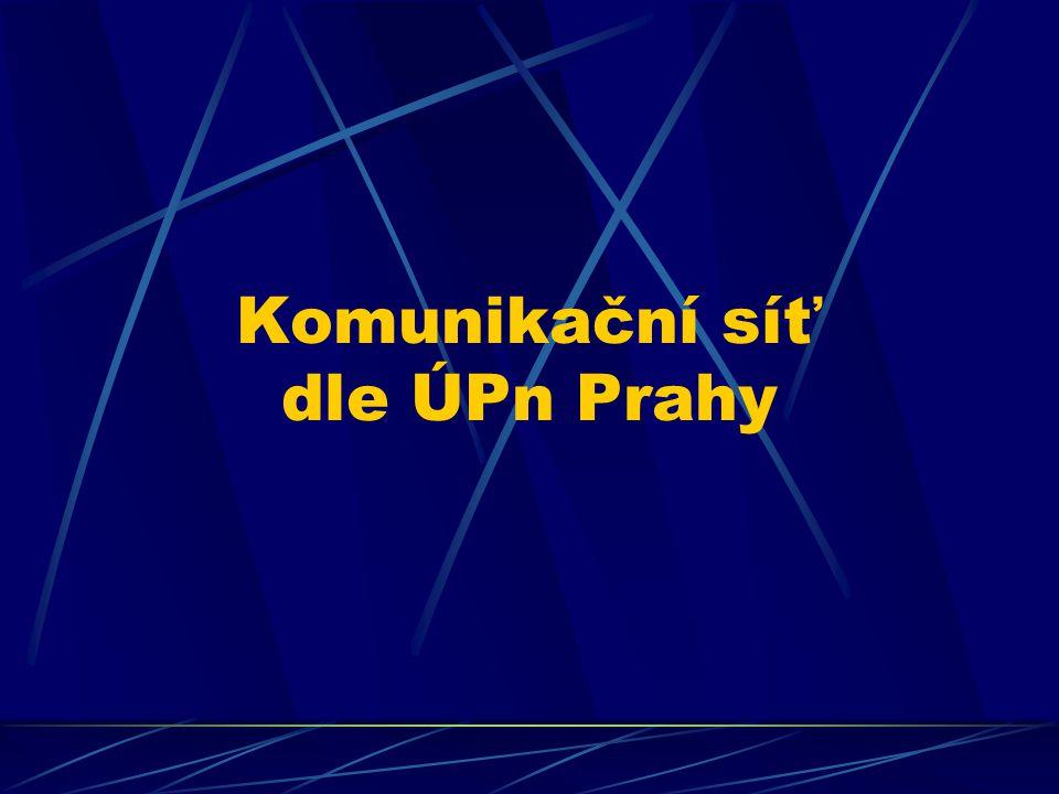 Srovnání možností rozvoje VHD Kalkulace nákladů TT navrhovaných SOS Praha vychází z jednotkových nákladů TT dle ÚPn