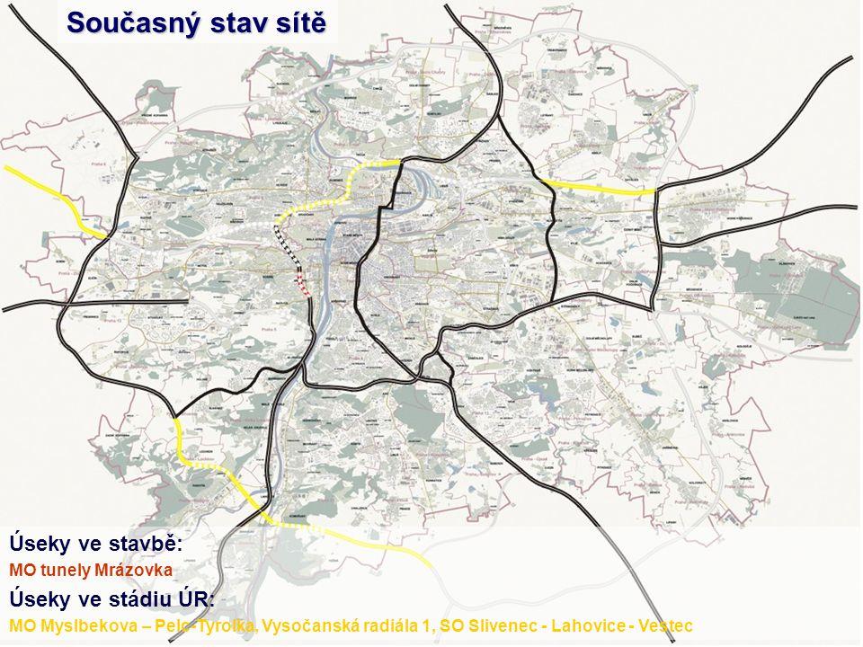 Tyto odhady potvrzují i představitelé města a SFDI MF Dnes 16.03.2004 Slivenec –VestecRuzyně - Březiněves ÚPn 19988 000 mil.4 600 mil.