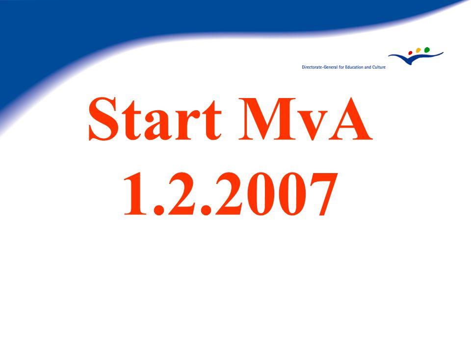 Start MvA 1.2.2007