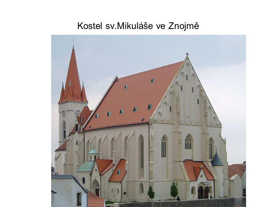 Kostel sv.Mikuláše ve Znojmě