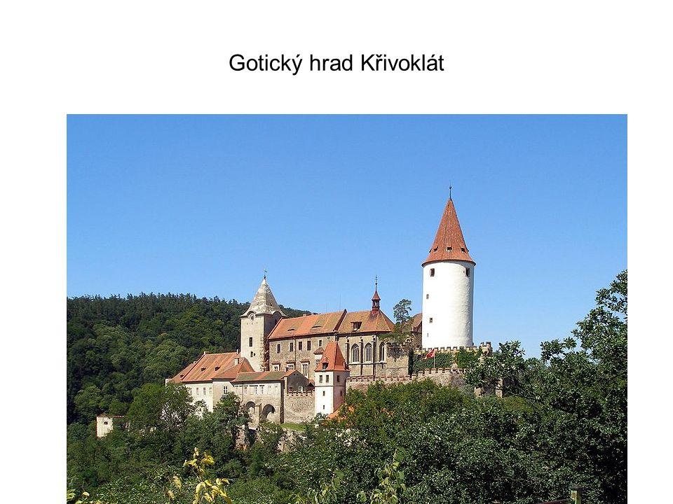 Gotický hrad Křivoklát