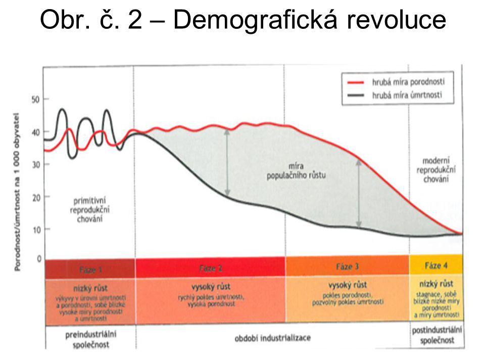 Obr. č. 2 – Demografická revoluce