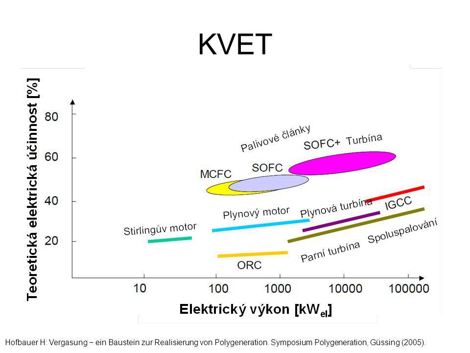 KVET Hofbauer H: Vergasung − ein Baustein zur Realisierung von Polygeneration. Symposium Polygeneration, Güssing (2005).