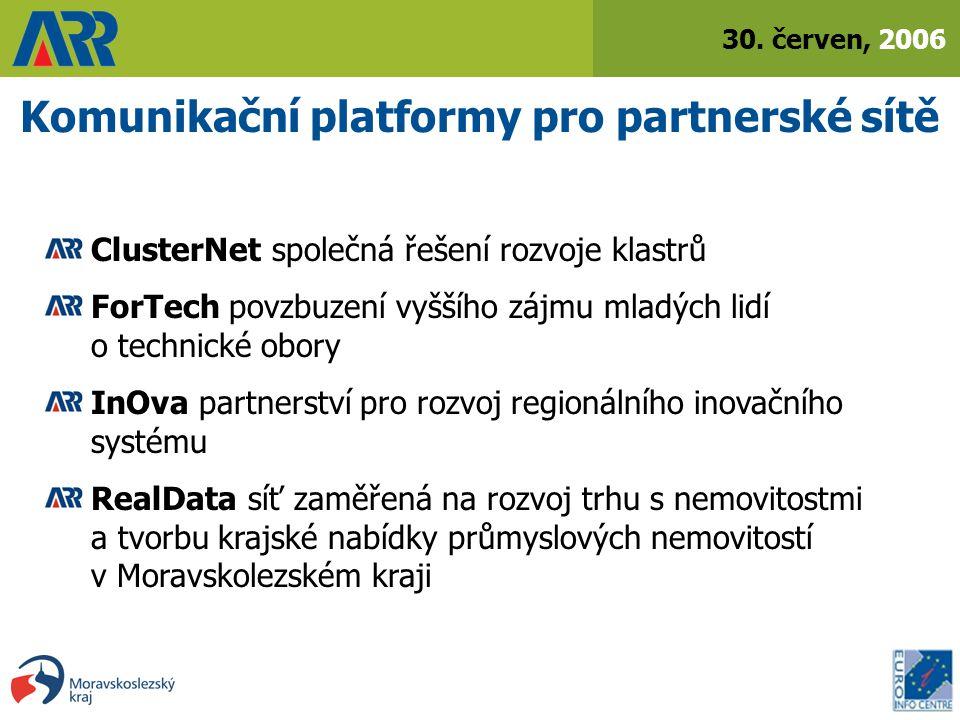 30.červen, 2006 Euro Info Centrum Ostrava od roku 1999 člen sítě Euro Info Center (cca.