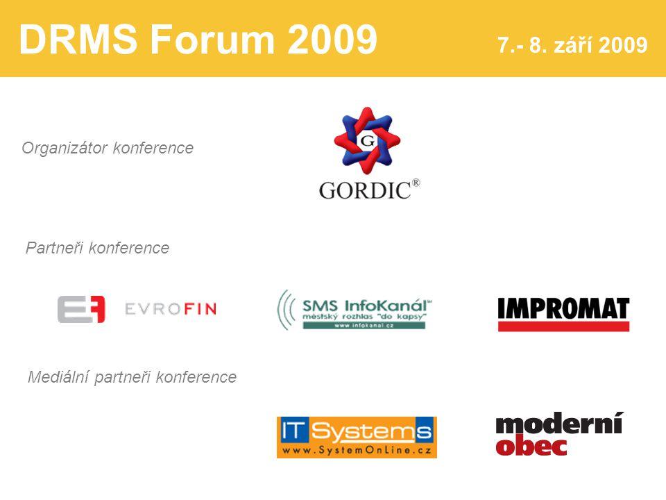 DRMS Forum 2009 7.- 8.