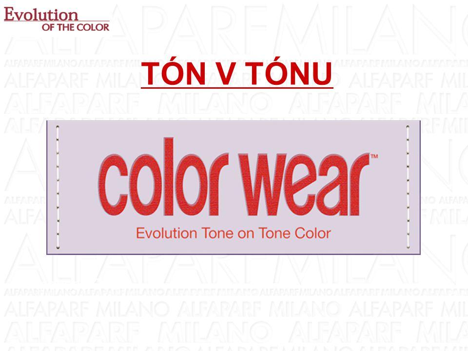 BARVÍCÍ KRÉMY NA SALONU - ROZDÍLY KDY NABÍDNOUT BARVU TÓN V TÓNU  pro všechny klienty na salonu, když požadují barvu bez obsahu amoniaku  dodání módních tónů, zvýšení lesku a intenzity přirozených vlasů  krytí šedivých vlasů (60-100%)  dodání tónu vlasům melírovaným nebo zesvětleným sluníčkem  vyrovnání vybledlých ploch permanentní barvy  barevné sjednocení délek vlasů a odrostů při dobarvování permanentní barvou  oživení barvy vlasů po trvalé nebo vyrovnání  oživení barvy a lesku poškozených a unavených vlasů