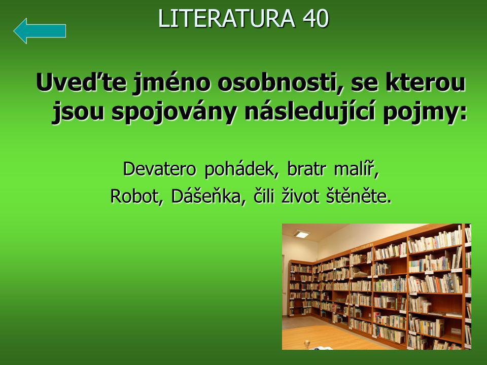 Hlaholice je: 1. slovanské písmo 2. slovanský jazyk 3. báseň LITERATURA 50