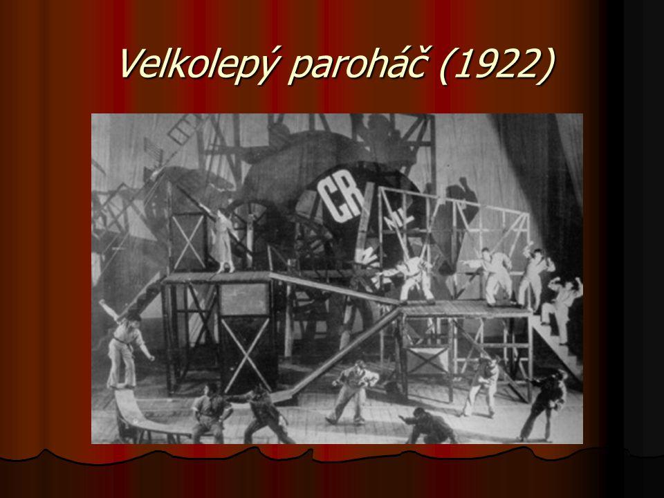 Velkolepý paroháč (1922)