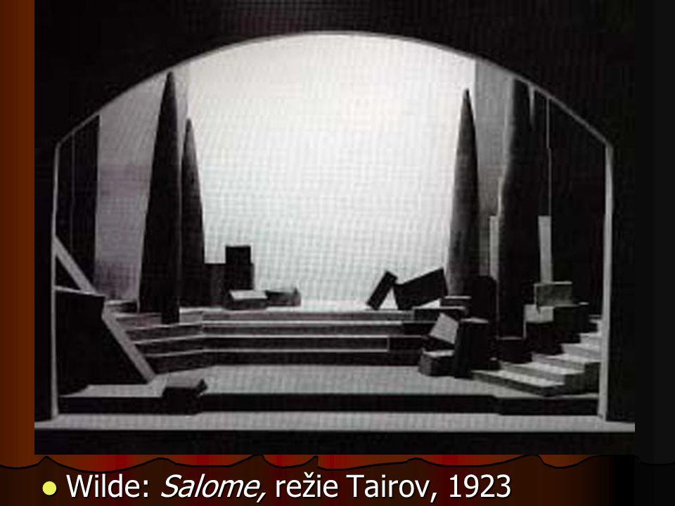 Wilde: Salome, režie Tairov, 1923 Wilde: Salome, režie Tairov, 1923