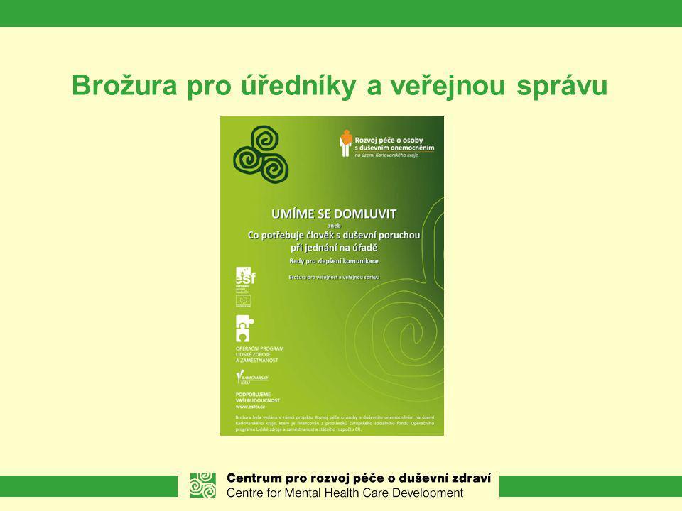 Brožura pro úředníky a veřejnou správu