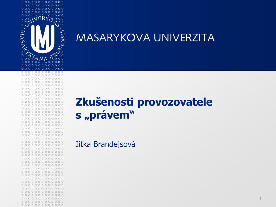 22 Závěrečné práce dle Zákona o vysokých školách Zveřejňování závěrečných prací (§ 47b ZVŠ) (1) Vysoká škola nevýdělečně zveřejňuje disertační, diplomové, bakalářské a rigorózní práce, u kterých proběhla obhajoba, včetně posudků oponentů a výsledku obhajoby prostřednictvím databáze kvalifikačních prací, kterou spravuje.