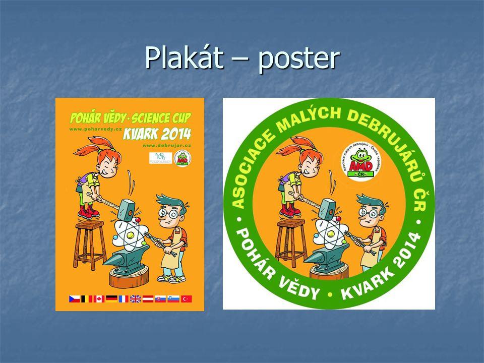 Plakát – poster
