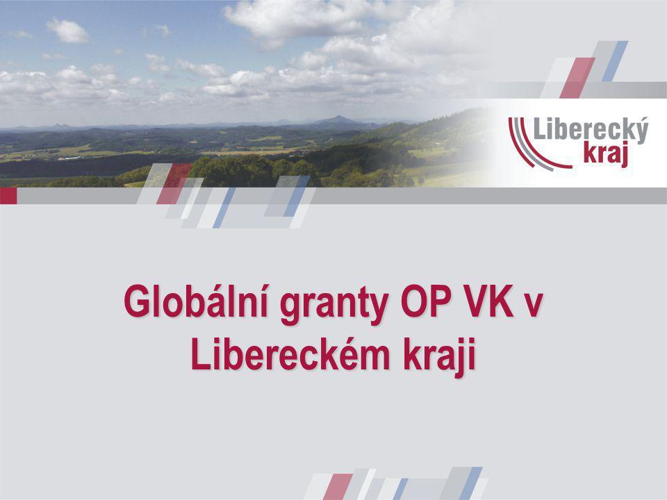 Globální granty OP VK v Libereckém kraji