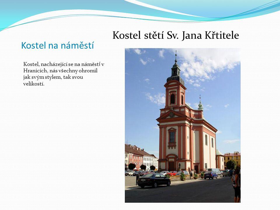 Dále se vypravujeme do Hranic na Moravě, kde máme rozchod na náměstí, na kterém je více památek, než by kdo čekal !