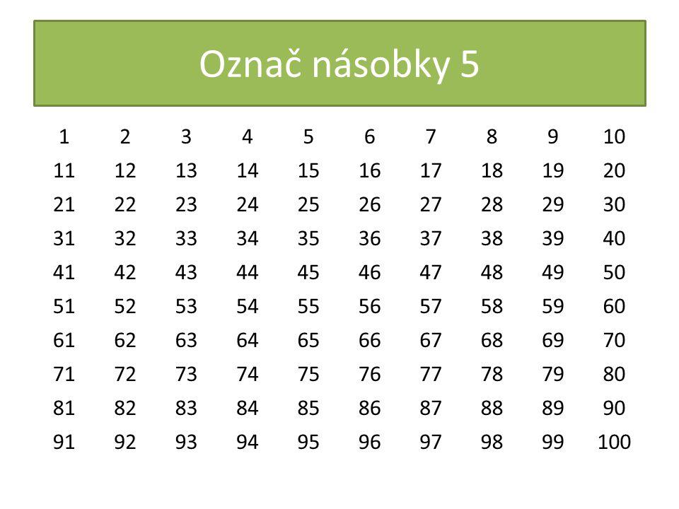 Oddíl 30 skautů se má rozdělit do skupin po pěti.Kolik skupin vytvoří.