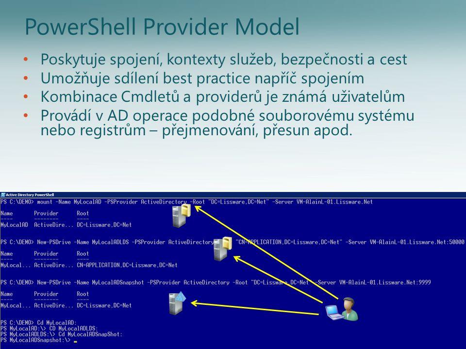 Get-Command -CommandType Cmdlet *-AD* Add-ADComputerServiceAccount Add-ADDomainControllerPasswordReplicationPolicy Add-ADFineGrainedPasswordPolicySubject Add-ADGroupMember Add-ADPrincipalGroupMembership Clear-ADAccountExpiration Disable-ADAccount Disable-ADOptionalFeature Enable-ADAccount Enable-ADOptionalFeature Get-ADAccountAuthorizationGroup Get-ADAccountResultantPasswordReplicationPolicy Get-ADComputer Get-ADComputerServiceAccount Get-ADDefaultDomainPasswordPolicy Get-ADDomain Get-ADDomainController Get-ADDomainControllerPasswordReplicationPolicy Get-ADFineGrainedPasswordPolicy Get-ADFineGrainedPasswordPolicySubject Get-ADForest Get-ADGroup Get-ADGroupMember Get-ADObject Get-ADOptionalFeature Get-ADOrganizationalUnit Get-ADPrincipalGroupMembership Get-ADServiceAccount Get-ADUser Get-ADUserResultantPasswordPolicy Install-ADServiceAccount Move-ADDirectoryServer Move-ADDirectoryServerOperationMasterRole Move-ADObject New-ADComputer New-ADFineGrainedPasswordPolicy New-ADGroup New-ADObject New-ADOrganizationalUnit New-ADServiceAccount New-ADUser Remove-ADComputer Remove-ADComputerServiceAccount Remove- ADDomainControllerPasswordReplicationPolicy Remove-ADFineGrainedPasswordPolicy Remove-ADFineGrainedPasswordPolicySubject Remove-ADGroup Remove-ADGroupMember Remove-ADObject Remove-ADOrganizationalUnit Remove-ADPrincipalGroupMembership Remove-ADServiceAccount Remove-ADUser Rename-ADObject Reset-ADServiceAccountPassword Restore-ADObject Search-ADAccount Set-ADAccountControl Set-ADAccountExpiration Set-ADAccountPassword Set-ADComputer Set-ADDefaultDomainPasswordPolicy Set-ADDomain Set-ADDomainMode Set-ADFineGrainedPasswordPolicy Set-ADForest Set-ADForestMode Set-ADGroup Set-ADObject Set-ADOrganizationalUnit Set-ADServiceAccount Set-ADUser Uninstall-ADServiceAccount Unlock-ADAccount