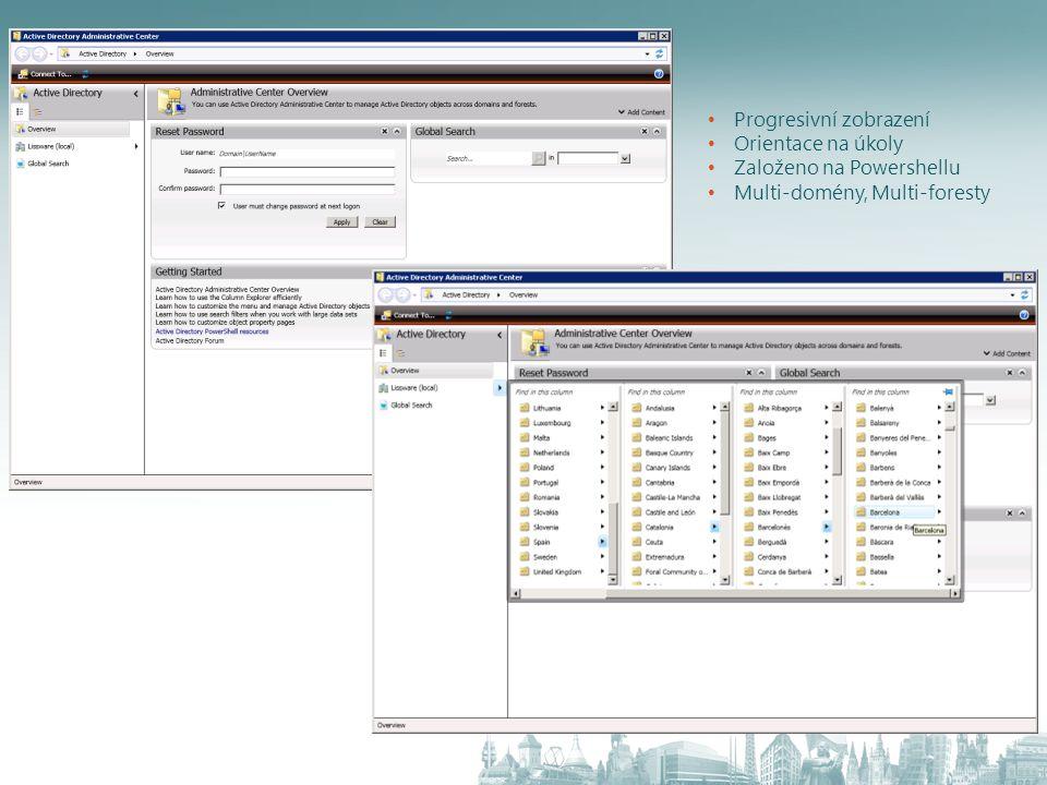 Best Practice Analyzer Detekuje odchylky od doporučených nastavení Původní omezení – Nedostupný nástroj pro automatické ověření správného nasazení AD Co je nového.