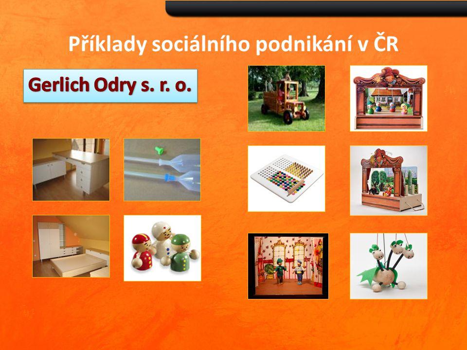 Příklady sociálního podnikání v ČR