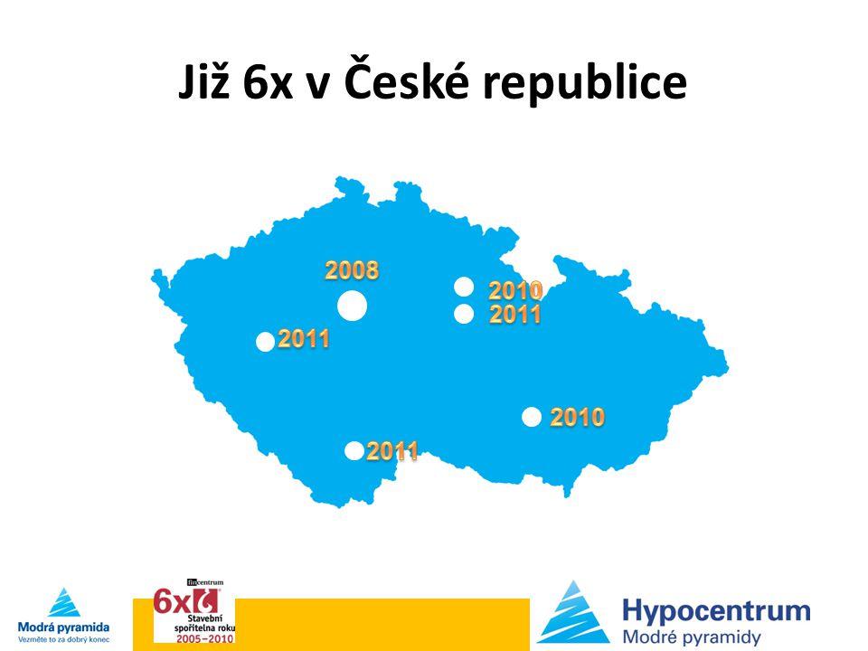 Již 6x v České republice