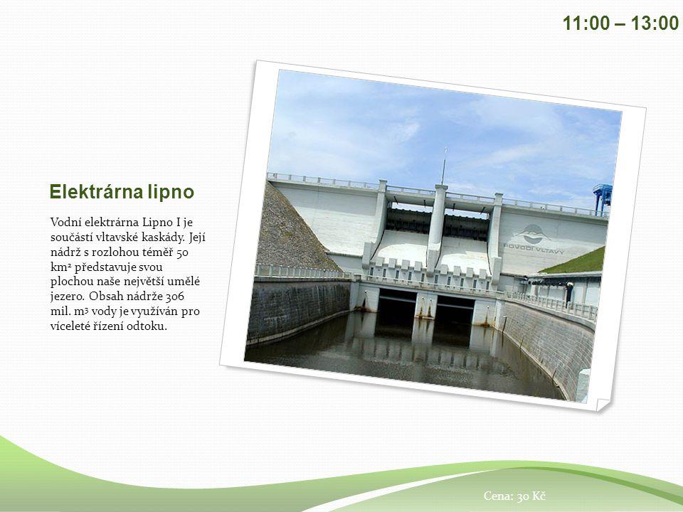Elektrárna lipno Vodní elektrárna Lipno I je součástí vltavské kaskády.